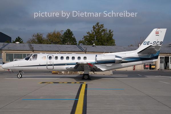 2009-10-23 OE-GCB Cessna 560 Goldeckflug