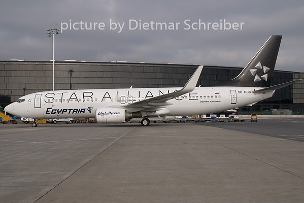 2009-10-23 SU-GCS Boeing 737-800 Egypt Air