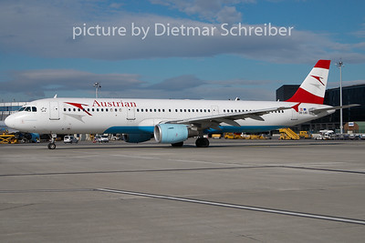 2009-10-27 OE-LBD Airbus A321 AustrianA irlines