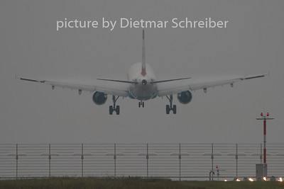2009-10-26 OE-LBD Airbus A321 Austrian Airlines