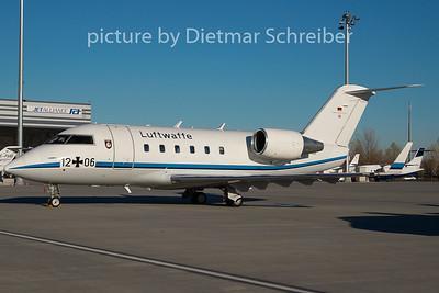 2009-11-25 12+06 CL600 German AIr Force