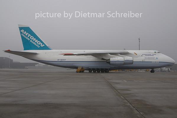 2009-11-27 UR-82007 ANtonov 124 Antonov Airlines