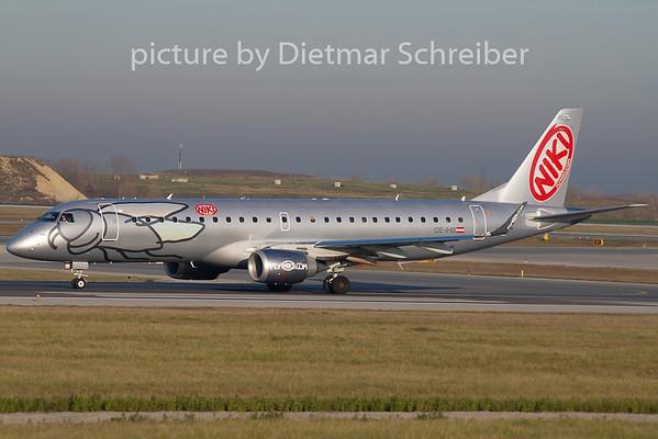 2009-11-26 OE-IHB Embraer 190 Flyniki