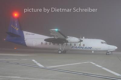 2009-11-27 HA-FAF Fokker 27 Farnair Europe