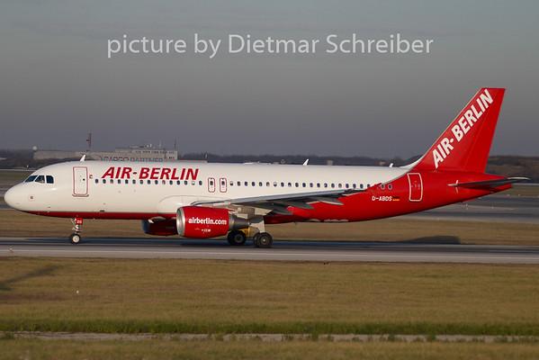 2009-11-26 D-ABDS Airbus A320 Air Berlin