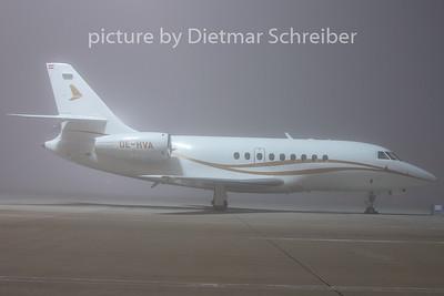 2009-11-27 OE-HVA Falcon 2000 Comtel Air