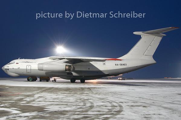 2010-01-28 RA-76403 Ilyushin 76 Continent