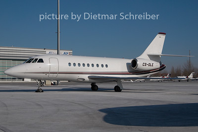 2010-01-27 CS-DLE Falcon 2000 Netjets