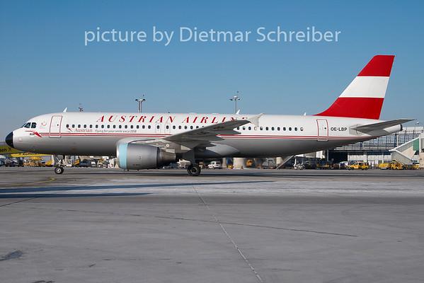 2010-01-27 OE-LBP Airbus A320 Austrian Airlines