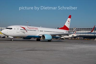 2010-01-27 OE-LNS Boeing 737-800 Austrian Airlines