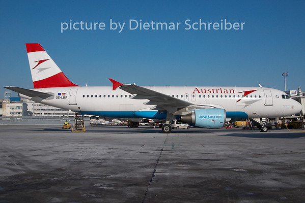 2010-01-27 OE-LBR Airbus A320 Austrian Airlines
