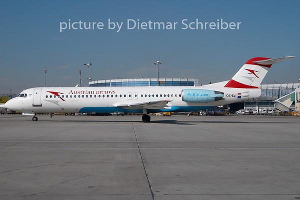 2010-02-25 OE-LVI Fokker 100 Austrian Arrows