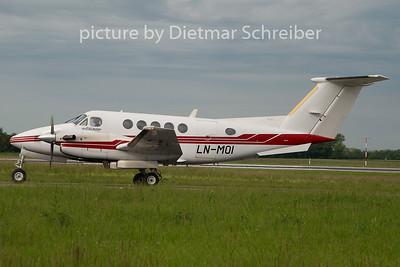2010-05-27 LN-MOI Beech 200 King AIr