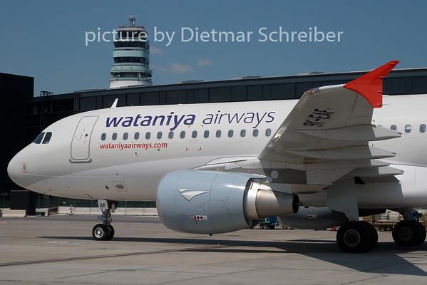 2010-06-30 9K-AEF Airbus A320 Wataniya AIrways
