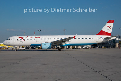 2010-06-29 OE-LBE AIrbus A321 Austrian AIrlines