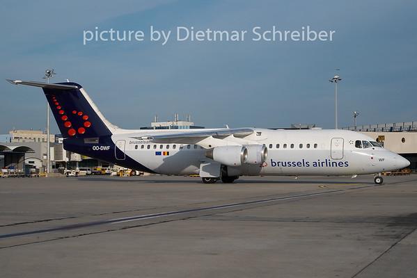 2010-08-20 OO-DWF Bae146 Brussels Airlines
