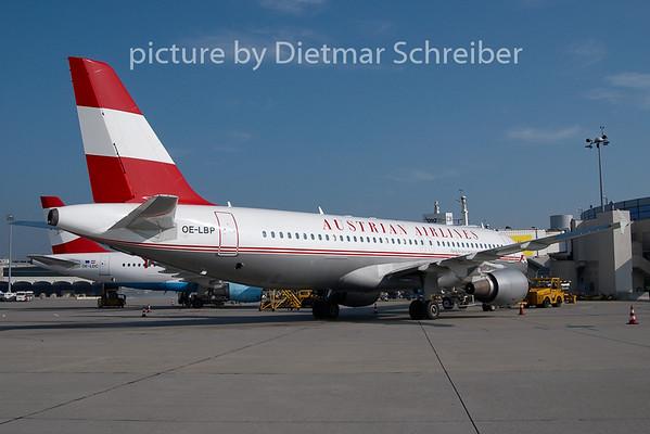 2010-09-24 OE-LBP Airbus A320 Austrian Airlines