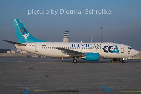 2010-12-30 OM-CCA Boeing 737-300 CCA / Ilyrian Airways