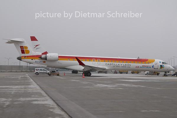 2011-01-31 EC-JTT Regionaljet 900 AIr Nostrum / Iberia