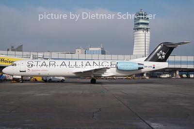 2011-01-28 OE-LVG Fokker 100 AUstrian Arrows