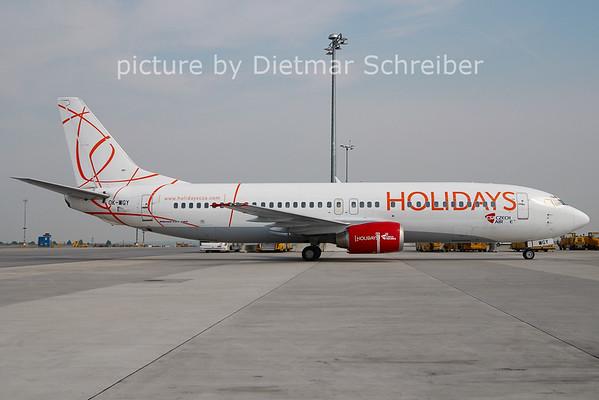 2011-04-28 OK-WGY Boeing 737-400 CSA Holidays