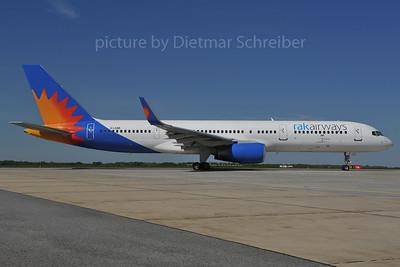 2012-04-27 G-LSAK Boeing 757-200 Rak Airways
