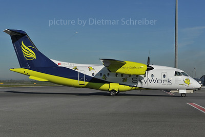 2012-04-27 HB-AEV Dornier 328 Skywork