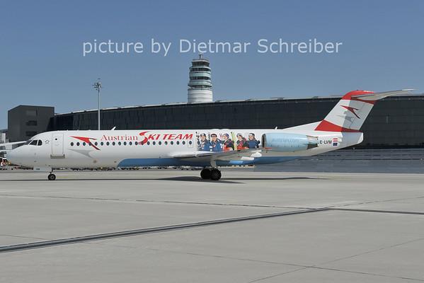 2011-06-29 OE-LVM Fokker 100 AUstrian AIrrows