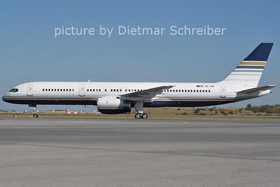 2011-09-30 EC-ISY Boeing 757-200 Priviledge Style