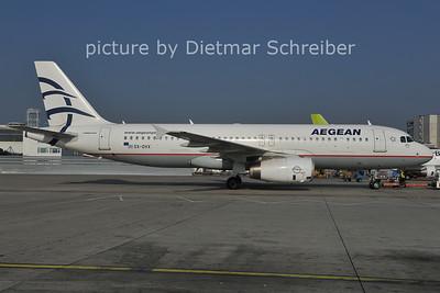 2011-10-31 SX-DVX Airbus A320 Aegean Airlines