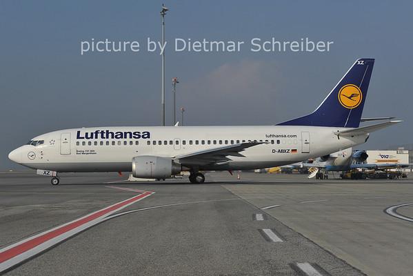 2011-10-31 D-ABXZ Boeing 737-300 Lufthansa