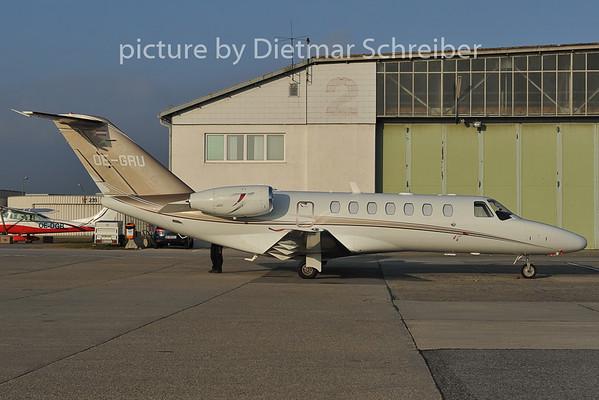 2011-11-29 OE-GRU Cessna 525 Avcon Jet