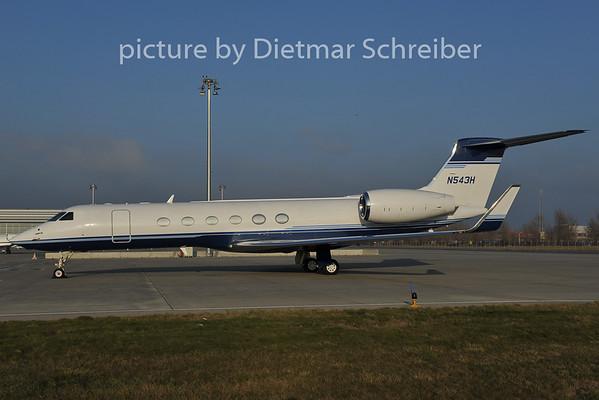 2011-11-29 N543H Gulfstream 5