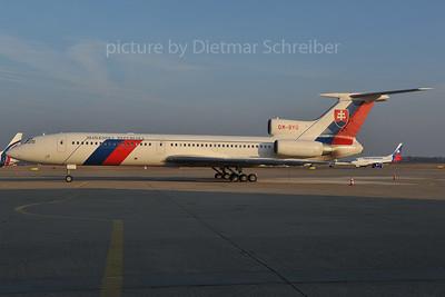 2012-01-27 OM-BYO Tupolev 154 Slovak Government