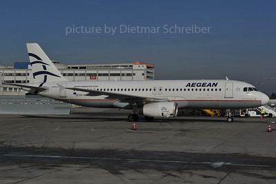 2012-01-30 SX-DVW Airbus A320 Aegean Airlines