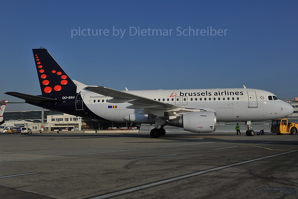 2012-01-30 OO-SSU Airbus A319 Brussels Airlines