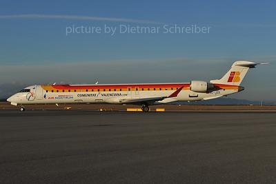 2012-02-27 EC-JZS Regionaljet 1000 Air Nostrum / Iberia