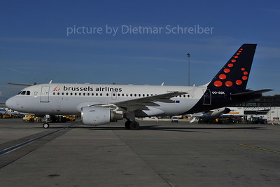 2012-02-27 OO-SSK AIrbus A319 Brussels AIrlines