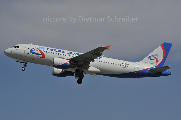 2012-03-28 VQ-BDM Airbus A320 Ural Airlines