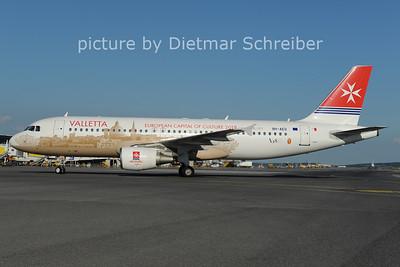 2012-07-31 9H-AEO Airbus A320 Air Malta