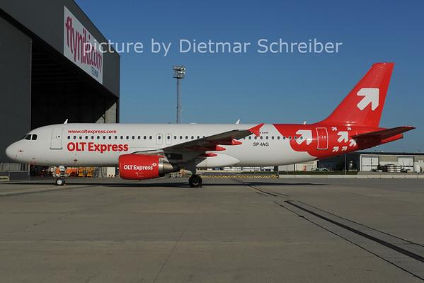 2012-07-31 SP-IAG Airbus A320 OLT Express
