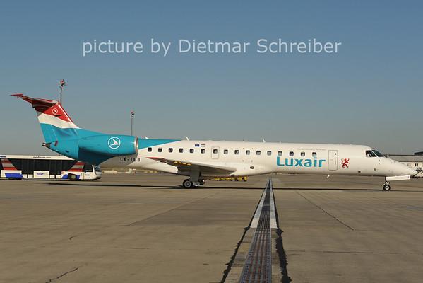 2012-08-28 LX-LGJ Embraer 145 Luxair