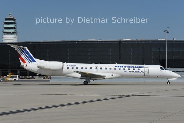 2012-09-11 F-GRGA Embraer 145 Regional / Air France