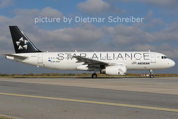 2012-10-31 SX-DVQ Airbus A320 Aegean AIrlines