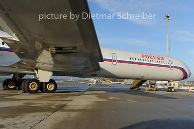 2012-11-29 RA-86540 Ilyushin 62 Russian Government