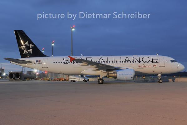 2012-11-30 OE-LBX Airbus A320 Austrian Airlines