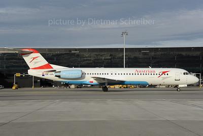 2013-01-30 OE-LVL Fokker 100 Austrian Airlines