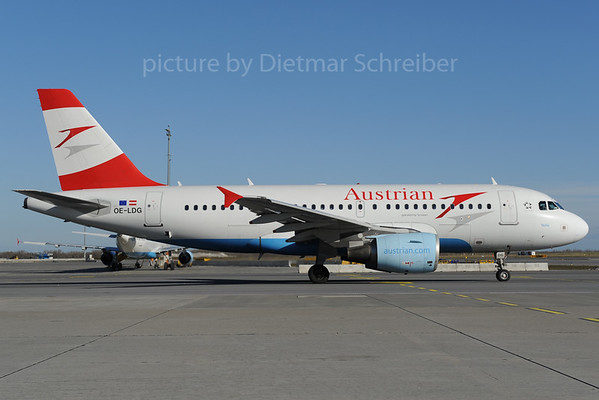 2013-01-31 OE-LDG Airbus A319 Austrian Airlines