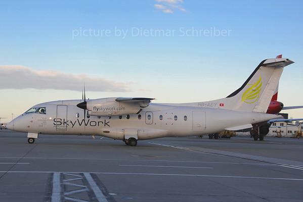 2013-01-31 HB-AEY Dornier 328 Skywork