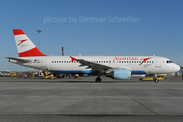 2013-01-31 OE-LBN Airbus A320 Austrian Airlines